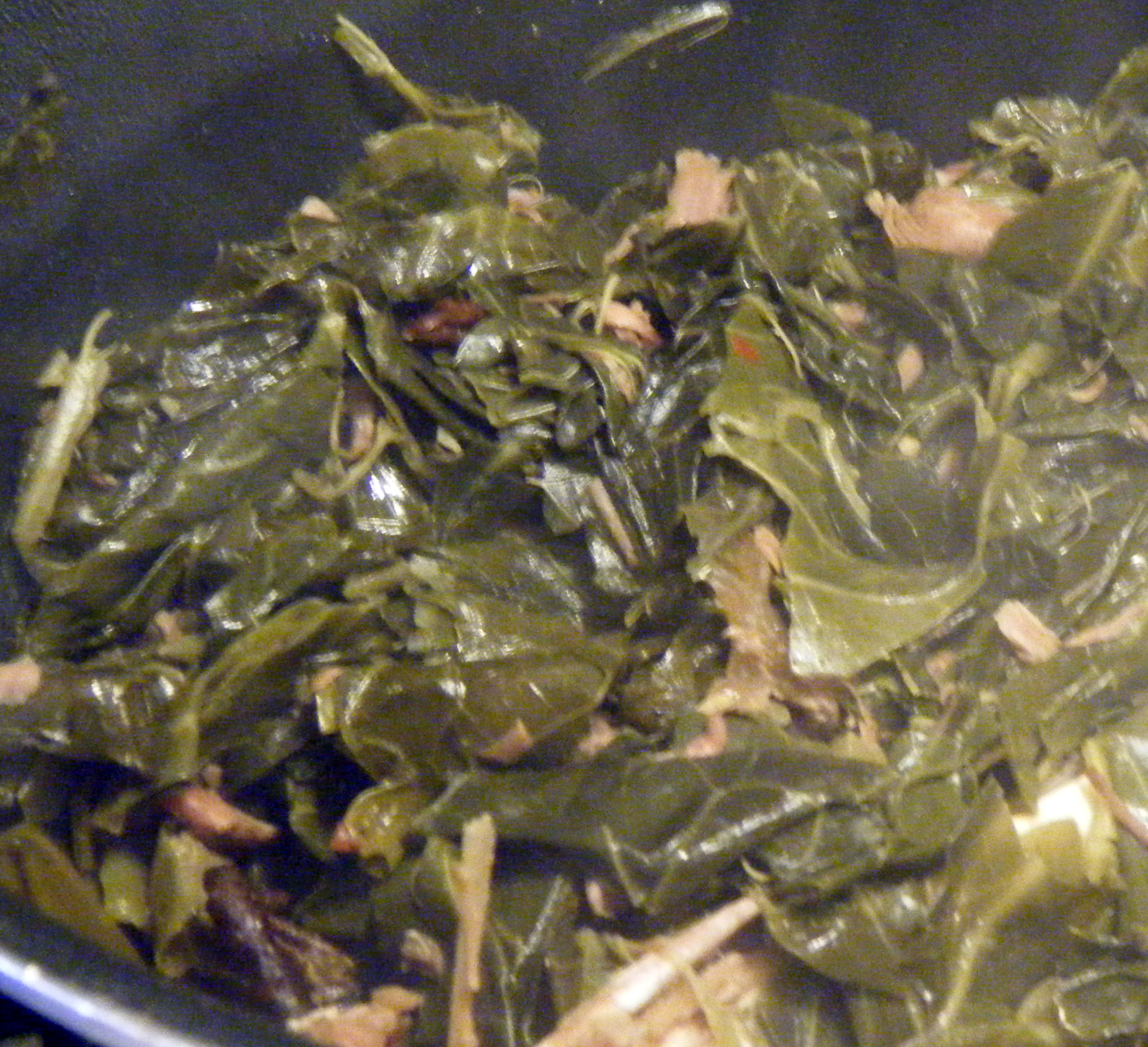 how to eat collard greens