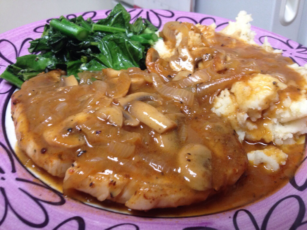 sexy smothered pork chops cook