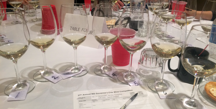 Flight 3- Aromatic White Varietal - Off Dry to Semi-Sweet.